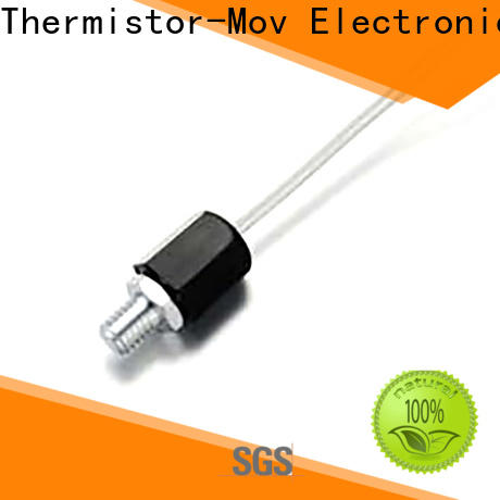 Thermistor-Mov chip optical temperature sensor Supply for digital meter