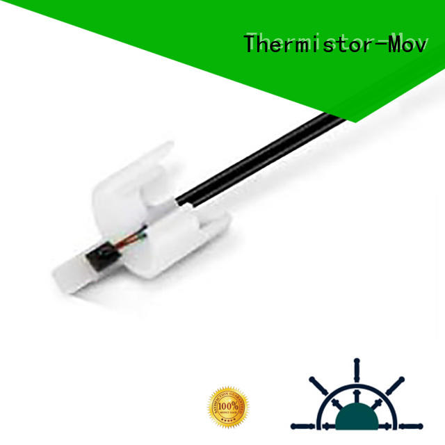 Thermistor-Mov marked electronic temperature sensor with Safety monitoring system for transformer