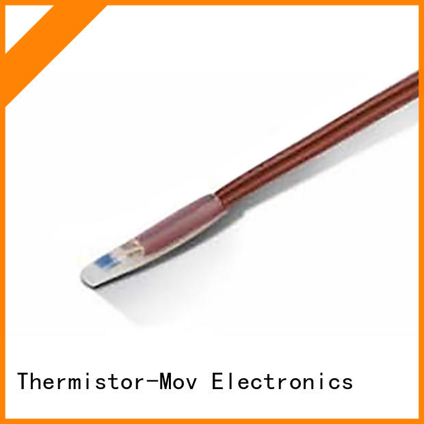 Thermistor-Mov low-cost heat temperature sensor with Safety monitoring system for compressor