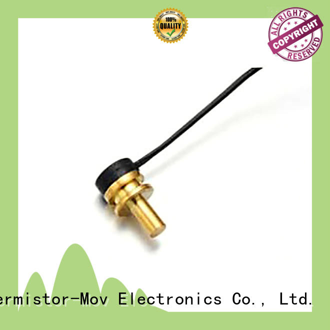 Thermistor-Mov low-cost ptc temp sensor with Safety monitoring system for motor