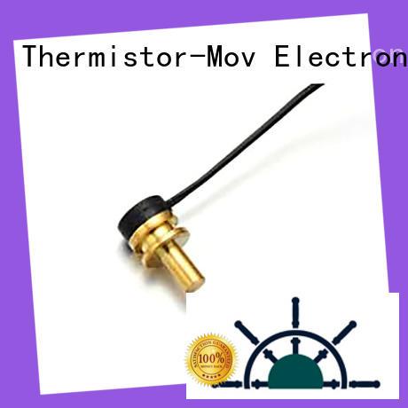 Thermistor-Mov temperature probe sensor with good performance for compressor