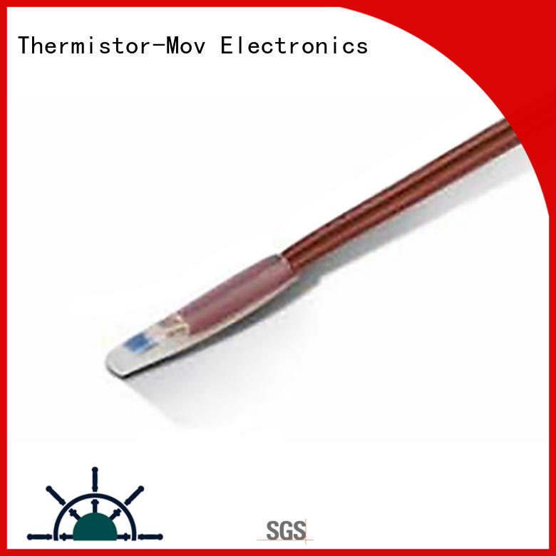 Thermistor-Mov temperature probe sensor with Safety monitoring system for wireless lan