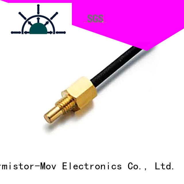Thermistor-Mov waveform high accuracy temperature sensor with Safety monitoring system for switching mode power supply