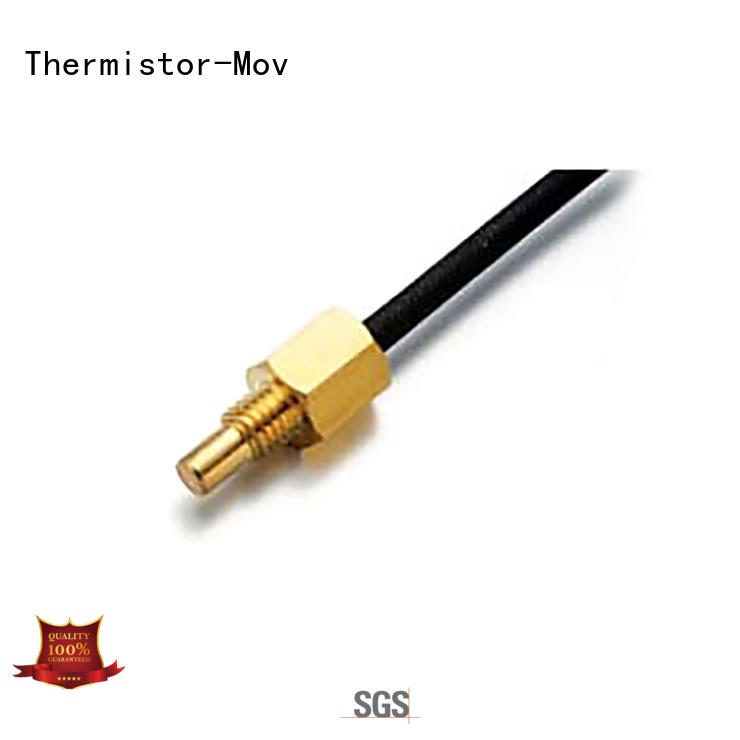 Thermistor-Mov waveform temperature sensor component with Safety monitoring system for motor