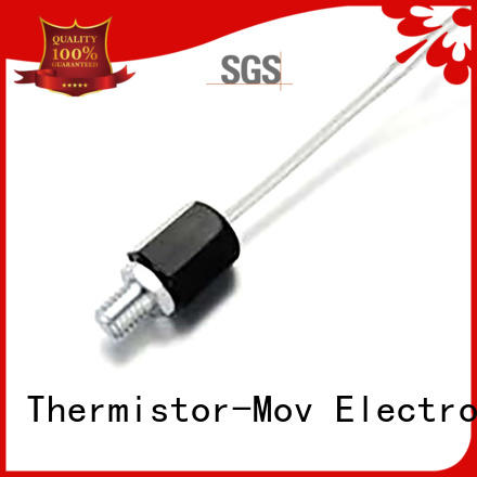 Thermistor-Mov effective thermistor sensor with Safety monitoring system for telecom server
