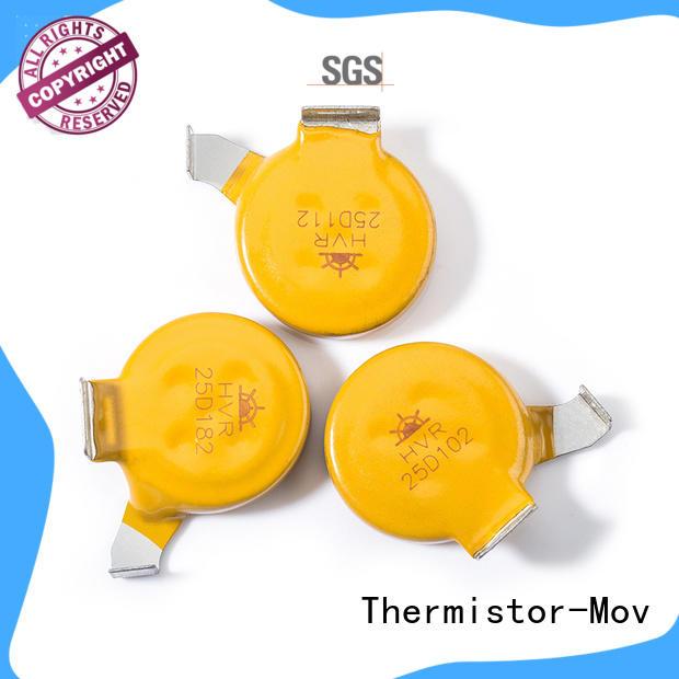 Thermistor-Mov gradely surge suppressor varistor collaboration heating