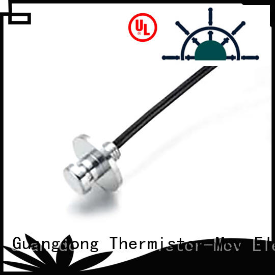 Thermistor-Mov marked temperature sensors with Safety monitoring system for adapter