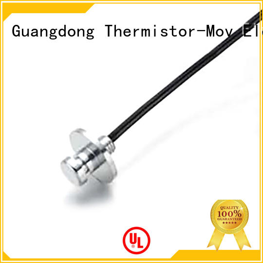 Thermistor-Mov safety temperature sensors with good performance for isdn equipment