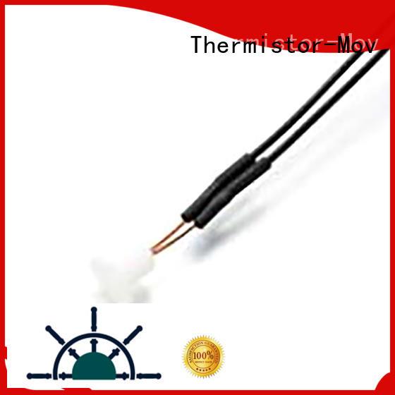 Thermistor-Mov stable temp sensor waveform for transformer