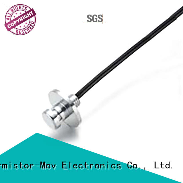 Thermistor-Mov energy thermometer sensor with good performance for adls modem